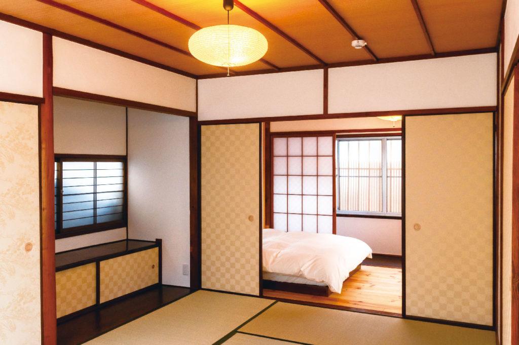 二階の寝室の写真