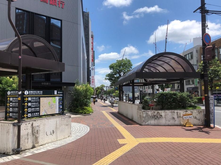 道順4_倉敷中央通りの写真