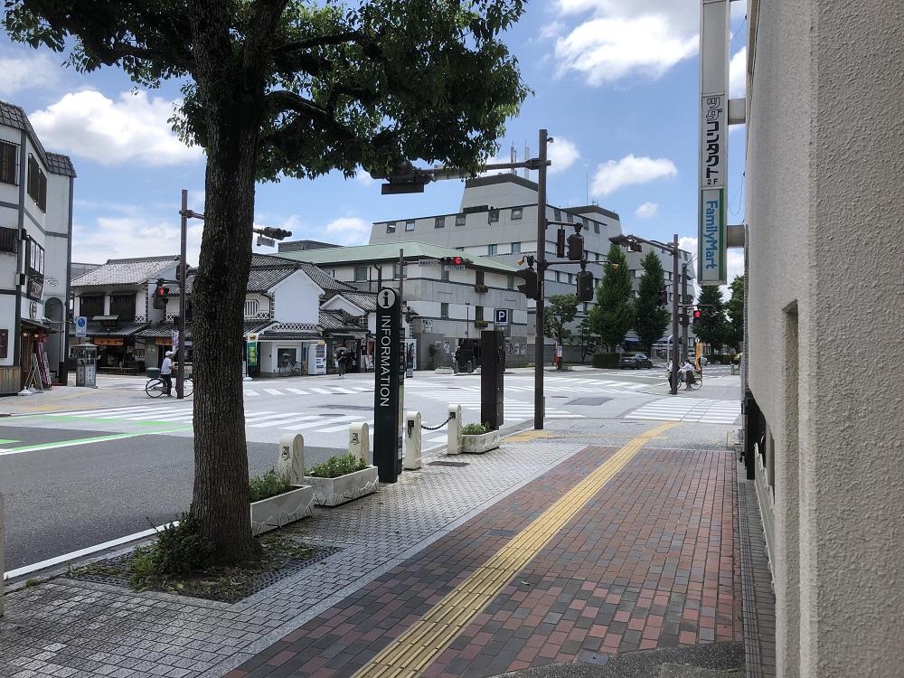 道順5_美観地区入り口前の画像